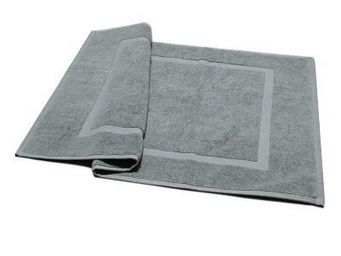 Liou - tapis de bain gris velours - Tapis De Bain
