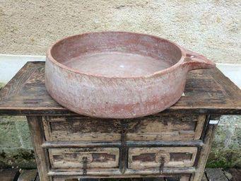 Atmosphere D'ailleurs - grande vasque naturelle avec poignée - Vasque À Poser