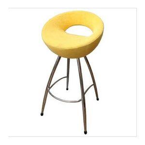 Mathi Design - tabouret de bar cercle - Tabouret De Bar