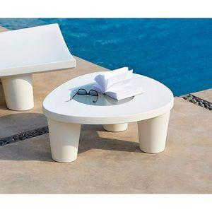 SLIDE - table basse low lita slide - Table Basse Forme Originale