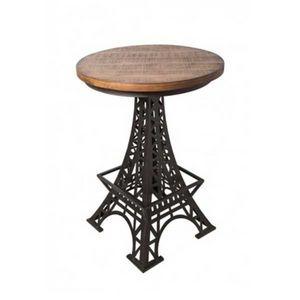 Mathi Design - table haute eiffel - Mange Debout