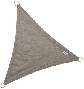 jardindeco - voile d'ombrage triangulaire coolfit anthracite 5 - Voile D'ombrage