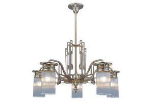 PATINAS - stuttgart 5 armed chandelier - Lustre