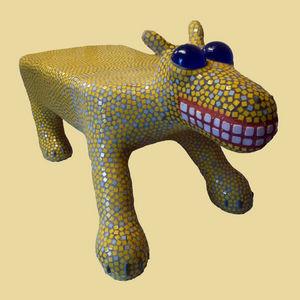 Rouilly - pièce unique - Sculpture Animalière