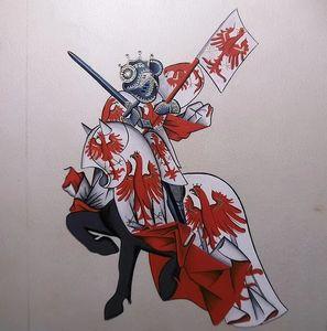 ALYS ART - le marquis de brandebourg - Enluminure