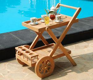 MEUBIS -  - Table Roulante De Jardin