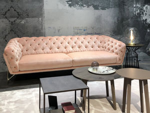 Calia Italia - art nouveau - Canapé Chesterfield