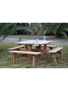 JARDIN-CONCEPT -  - Table Pique Nique