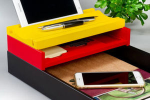 BESTAR - stackable 3 pc set  - Organiseur De Bureau