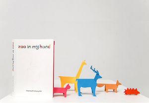 IK&SK - zoo in my hand - Livre Enfant