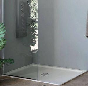 Grandform - receveur de douche super slim grandform 170x80 en 2 couleurs - couleur: gris - Receveur De Douche À Poser