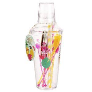 MAISONS DU MONDE - verre à cocktail 1420030 - Shaker