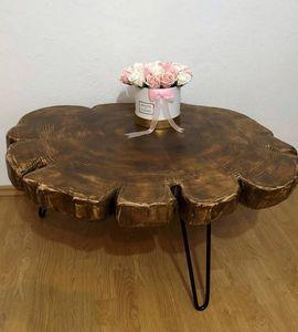 MASIV WOOD -  - Table Basse Forme Originale