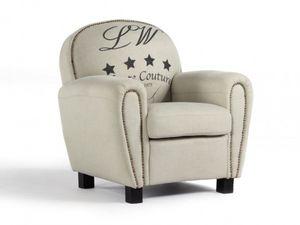 WHITE LABEL - fauteuil winston - Fauteuil Club