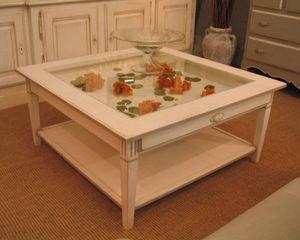Coup De Soleil - collectionneur eygalières - Table Basse Avec Plateau