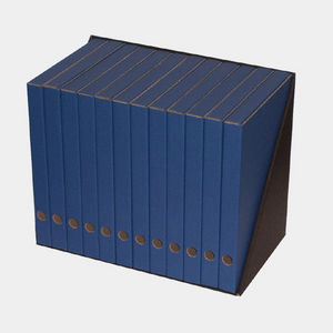 Equip Store - 12 classeurs - bleu - Classeur Sur Socle