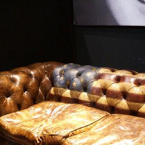 Les Interieurs Contemporains - canapé america - Canapé Chesterfield