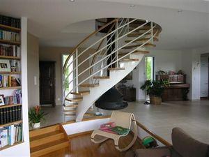 Concept 3000 - escalier à vis - Escalier À Limon Central