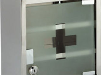 HAPPYSPACE - l'armoire à pharmacie inox - Armoire À Pharmacie