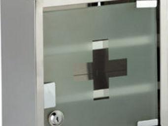 HAPPYSPACE - l'armoire � pharmacie inox - Armoire � Pharmacie