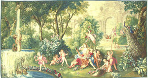 Galerie Hadjer - renaud et armide - Tapisserie Des Gobelins