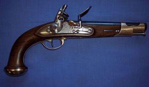 Cedric Rolly Armes Anciennes - pistolet du garde du corp du roi 2eme modele - Pistolet Et Révolver