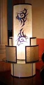 Andsofeel Creations - chinoiseries - Colonne Lumineuse
