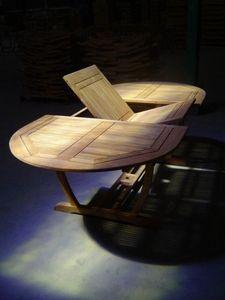 MEUBELINDO -  - Table De Jardin � Rallonges