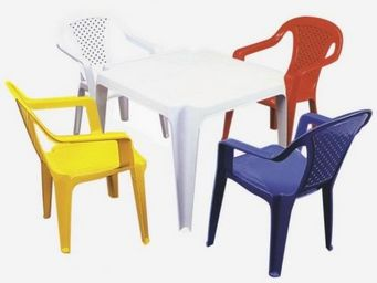 JARDIN-CONCEPT -  - Chaise De Table Enfant