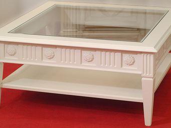 Luc Perron -  - Table Basse Avec Plateau
