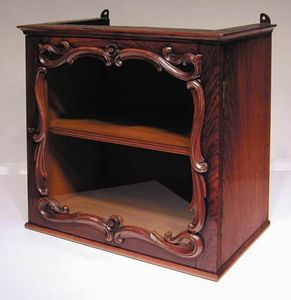 BAGGOTT CHURCH STREET - rosewood display cabinet - Vitrine Basse