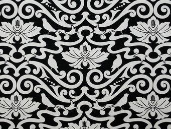 Equipo DRT - al-andalus negro - Tissu Imprimé