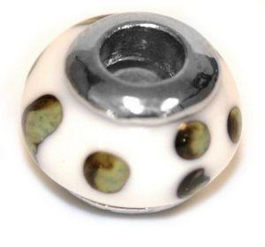 Joe Cool - component glass bead - Bouton De Tiroir