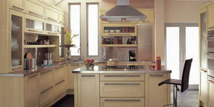Wooden Hearts Warehouse - oak shaker door - Cuisine Traditionelle