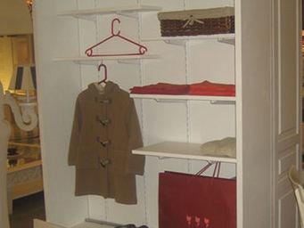 Luc Perron Creation - dressing enfant tiroir sur roulette - Dressing Droit