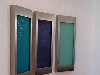 Revisage - wasserbild trecoc bluegreen - Fontaine Murale