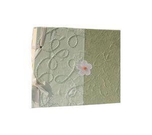 LE GRENIER D'ALISSINA - bimatière vert - Carnet