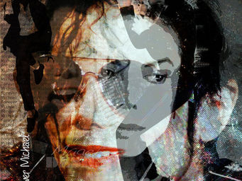 Magel'design - forever michael jacksons 80x80 cm - Portrait