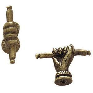 FERRURES ET PATINES - bouton de meuble : main - Poignée De Meuble