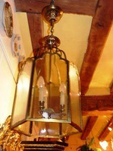 Art & Antiques - enorme lanterne en bronze - Lanterne D'intérieur