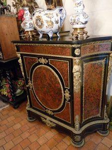 Art & Antiques - meuble d'appui en marqueterie boulle écaille tout - Meuble D'entre Deux À Hauteur D'appui