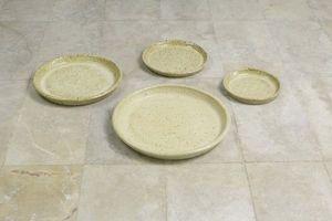 HERITAGE ARTISANAT - soucoupe ronde - Dessous De Pot De Jardin