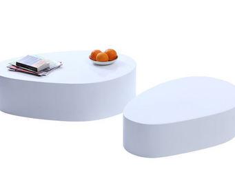 Miliboo - camille table basse - Table Basse Forme Originale