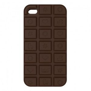 BUD - bud by designroom - coque iphone 4 design chocolat - Coque De T�l�phone Portable