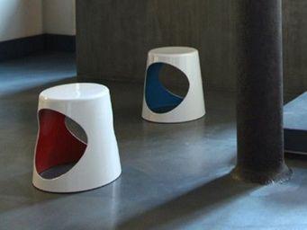 XL Boom - xl boom - 02 chair - xl boom - blanc / intérieur b - Tabouret