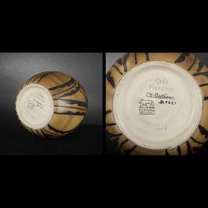 Expertissim - keramis & catteau. vase africaniste en grès - Tasse À Café