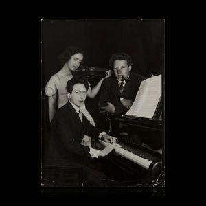 Expertissim - cocteau jean (1889-1963) avec arthur honegger et a - Photographie