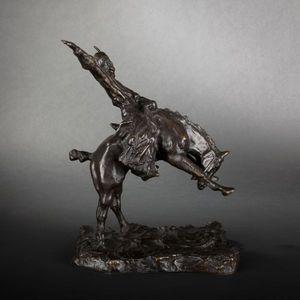Expertissim - cavalier argentin en bronze d'après troubetzkoy - Sculpture