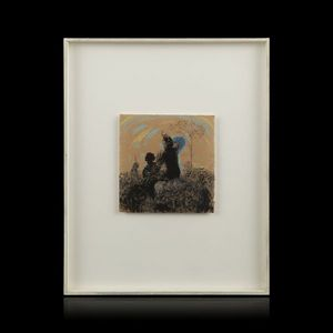 Expertissim - bernard guillot. sans titre, 1984 - Pastel