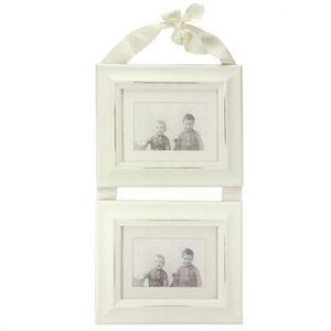 MAISONS DU MONDE - cadre ruban rectangle double - Cadre Photo